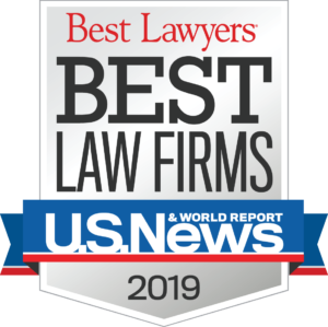 best law firms U.S.News & World Report 2019